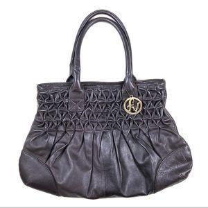 Fortuna Valentino Brown Leather Tote Bag